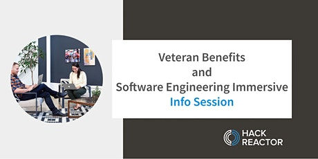 Veteran Benefits and Software Engineering Immersive Info Session tickets