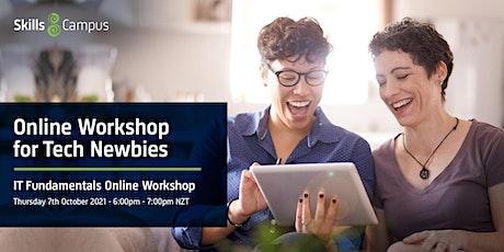 FREE IT Fundamentals  ONLINE Workshop tickets