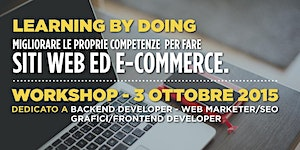 Workshop: Learning by doing. Migliorare le proprie...