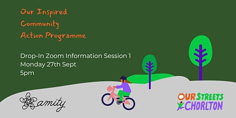 Inspired Community Action Programme - Amity Drop-In Information Session 1 tickets