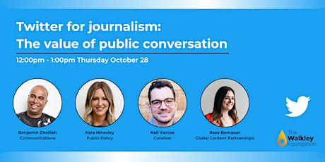 Twitter for journalism: The value of public conversation tickets