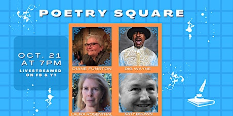 Poetry Square hosted by Diane Funston tickets