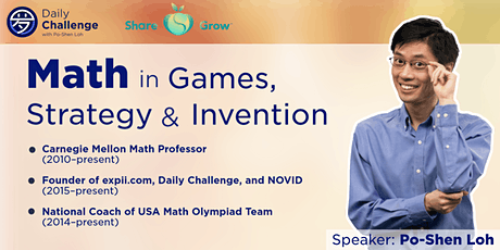 Math in Games, Strategy and Invention | Edmond, OK | Oct 30, 2021 tickets