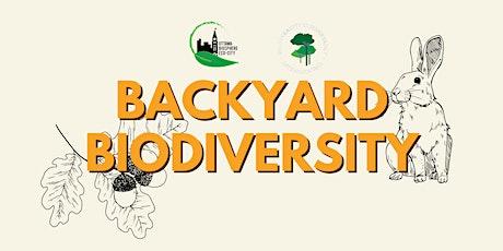OBEC TUESDAY TREE TALK SERIES -  Backyard Biodiversity tickets