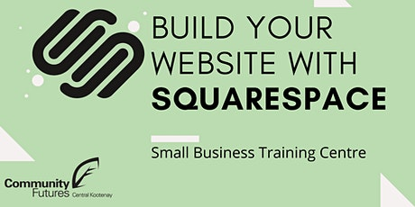 Building a Website with Squarespace tickets