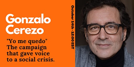 YO ME QUEDO. The campaign that gave voice to a social crisis. tickets
