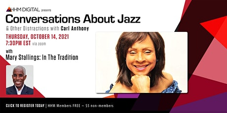 Conversations About Jazz & Other Distractions w/ Carl Anthony tickets