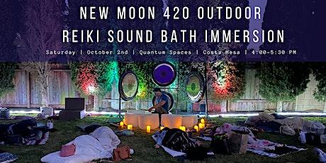 New Moon 420 Outdoor Reiki Sound Bath Immersion (Costa Mesa) tickets
