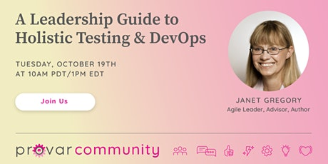 A Leadership Guide to Holistic Testing & DevOps tickets