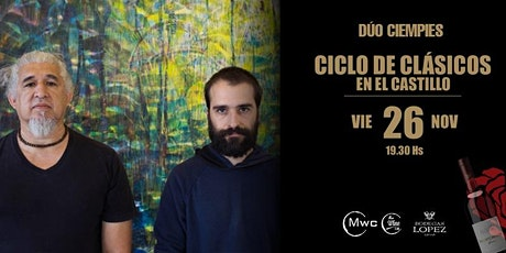 CICLO DE CLÁSICOS EN EL CASTILLO - DÚO CIEMPIES - 26 NOV 21 entradas