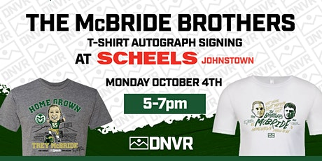 The McBride Brother's T-Shirt Autograph Signing tickets