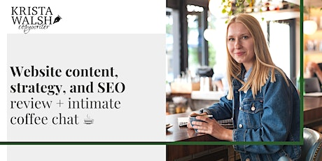 Website Content, Strategy, and SEO Review - November tickets