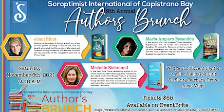 9th Annual Authors Brunch tickets