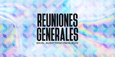 Reuniones Generales entradas