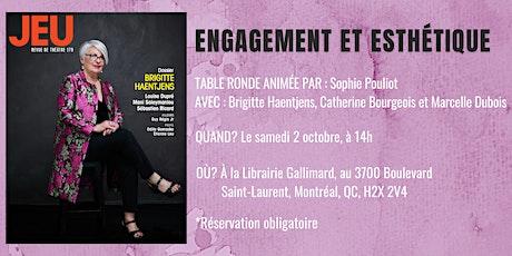 Lancement de JEU #179 - Brigitte Haentjens billets