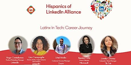 Latinx in Tech Career Journeys tickets