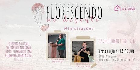 Conferência Mulheres Florescendo ingressos