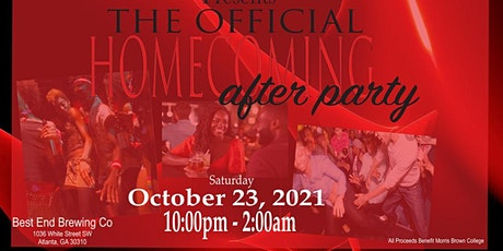 Official MBC Homecoming After Party tickets