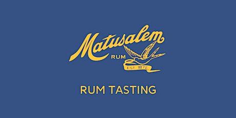 Matusalem Rum Tasting at The Fox Small Bar tickets