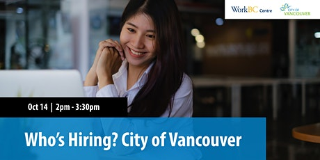 Who's Hiring? City of Vancouver tickets