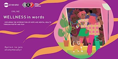 Seneca Student Federation presents: Wellness In Words (Hope Focus) tickets