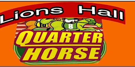 Quarter Horse Race tickets