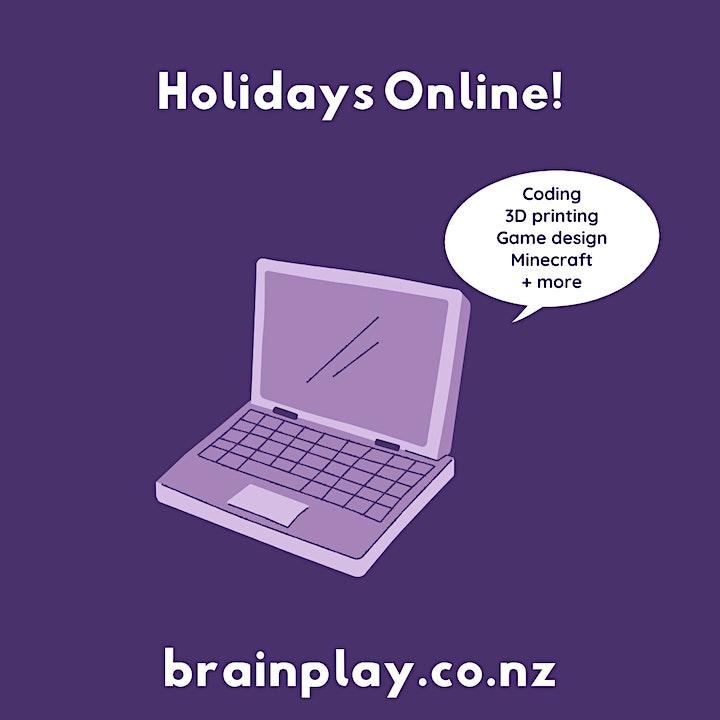 Brain Play - October Online Holiday Program! image