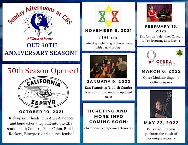 Season Subscription - 6 concerts image