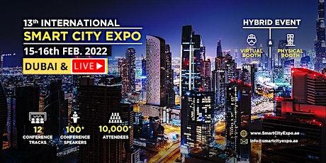 13th International Smart City Expo 15-16 FEB. 2022, Dubai & Live Event tickets