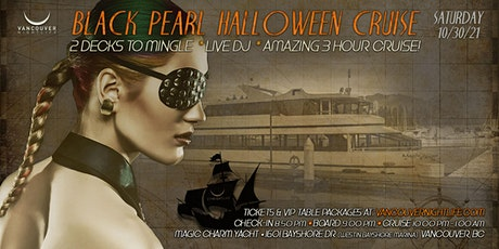 Black Pearl Vancouver Halloween Party Cruise tickets