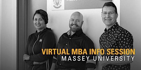 Massey University  EMBA Information Evening tickets