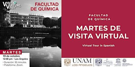 Martes de visita virtual tickets