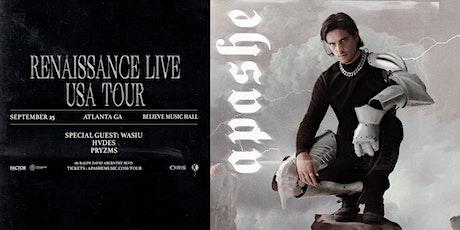 Apashe - Renaissance Live Tour |IRIS ESP 101| Saturday, September 25 tickets