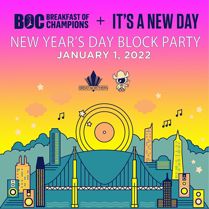 It's A New Day + Breakfast Of Champions Block Party 2022 image