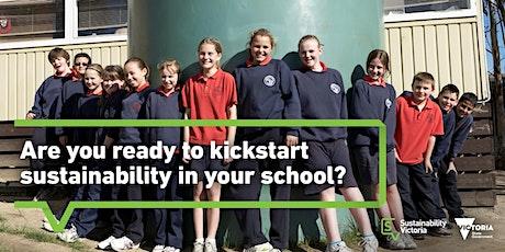 Kickstarting sustainability  in your school – online workshop tickets