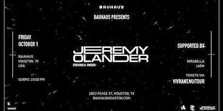 JEREMY OLANDER @ Bauhaus tickets
