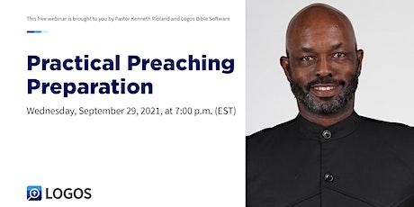 Practical Preaching Preparation tickets