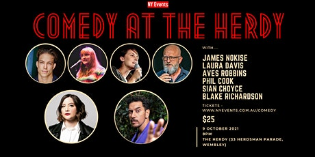 Copy of Comedy @ The Herdy - October - NY Events tickets