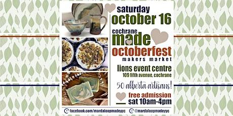 Cochrane MADE OctoberFest Market tickets