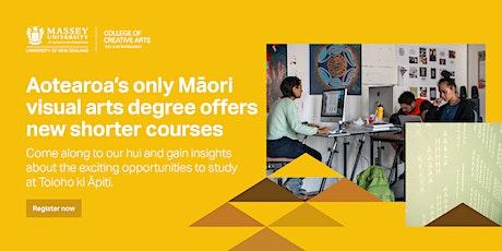 Māori Visual Art Info Presentation - WHANGANUI tickets
