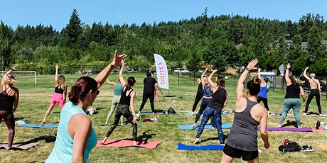 Barre3 FREE 45- Minute Outdoor Class at Happy Valley Park tickets
