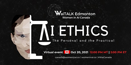 WaiTALK: AI Ethics - The Personal and the Practical tickets