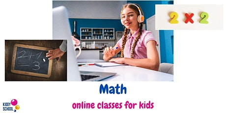 Math - trial class for kids 8-12y.o. tickets