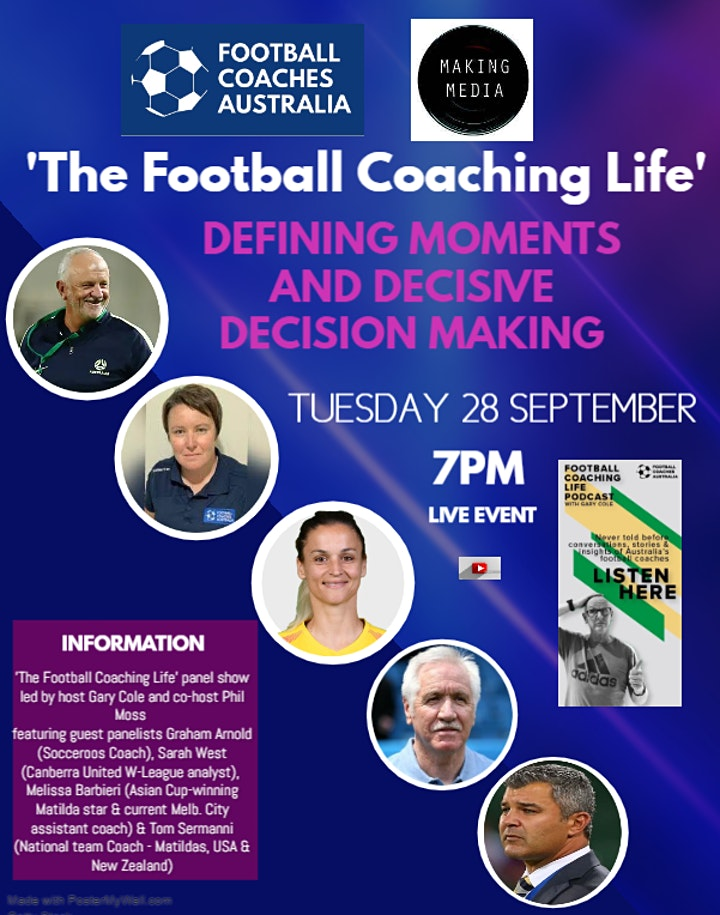 FCA-Making Media present 'Defining Moments and Decisive Decision Making' image