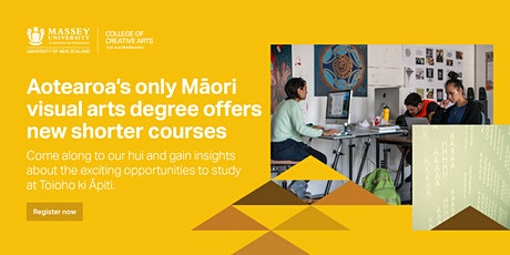Māori Visual Art Info Presentation - PALMERSTON NORTH tickets