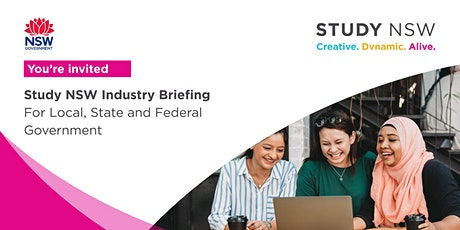 Study NSW Briefing for Local, State and Federal Government tickets