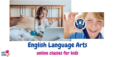 English Language Arts - trial class for kids 8-12y.o. tickets