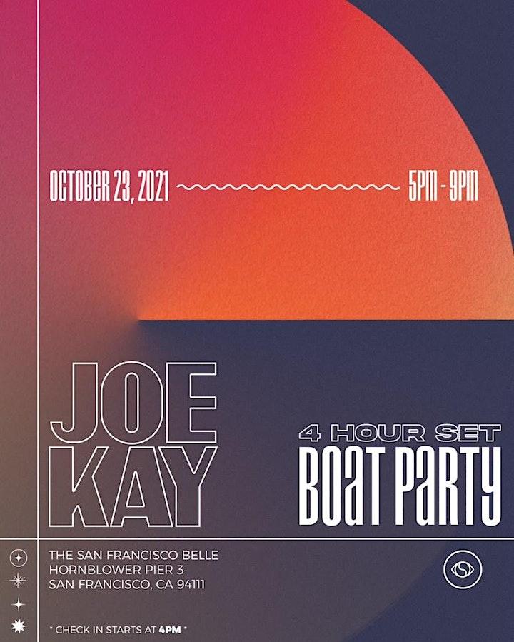 Joe Kay - 4 Hour Set - Boat Party image