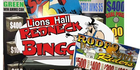 Redneck Presale Pull Tab tickets