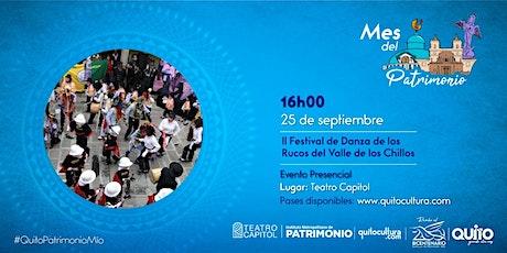 II Festival de Danza de los Rucos del Valle de los Chillos boletos